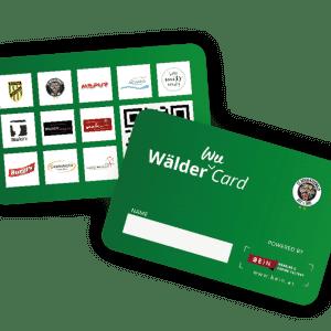 ECB Wälder Wee Card 2018 / 2019