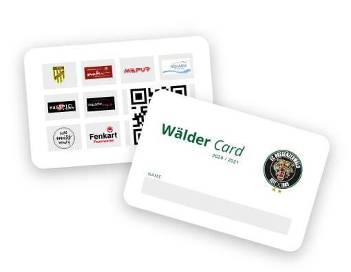 ECB Wälder Card 2020/2021